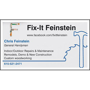 Fix-It Feinstein